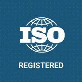 ISO Registered graphic